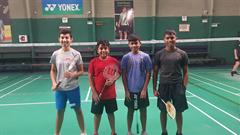 U16 Boys Badminton progress to Final