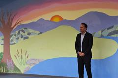 An Taoiseach, Leo Varadkar visits Hansfield ETSS and Launches Mural